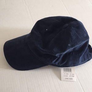 Brandy Melville onesize Navy coudoroy hat